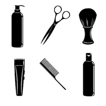理髪店やショップのアイコンを設定