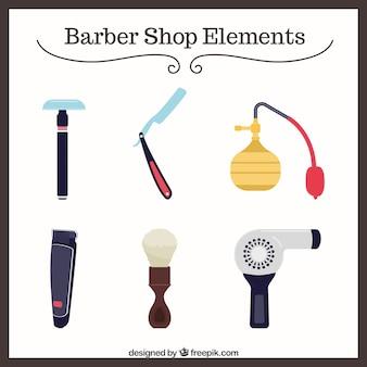 Barber shop elements pack