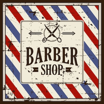 Barbershop barber shop sign signage