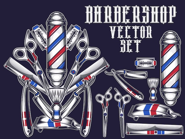 Barbershop ite, set