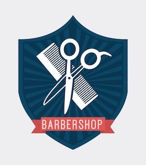 Barbershop logotype