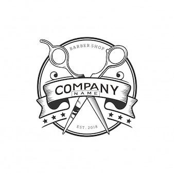 Логотип barbershop