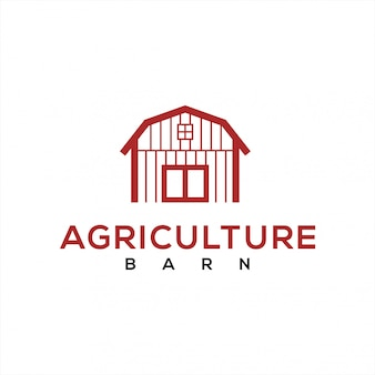 Barn logo for the agricultural industry