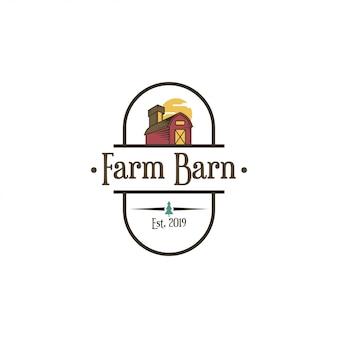 Barn logo concept.