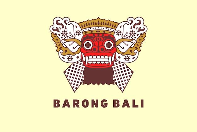 Barong traditional culture of bali