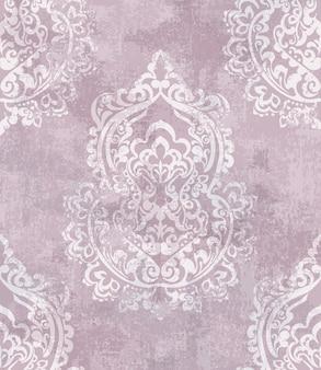 Baroque grunge texture pattern