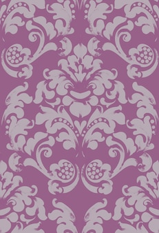 Baroque ornamented background
