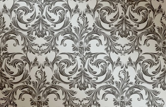 Baroque pattern background. Ornament Decor for invitation, wedding, greeting cards. Vector illustrations