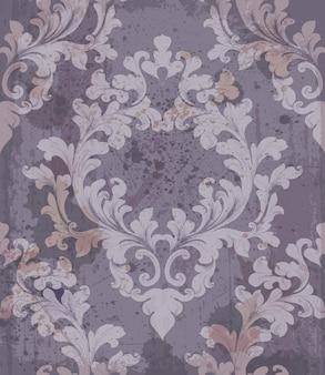 Baroque purple background