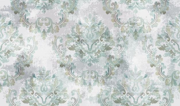 Baroque texture pattern