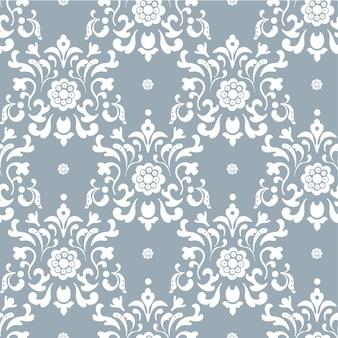 Sfondo vettoriale barocco. contesto decorativo senza cuciture, illustrazione della decorazione di arte dell'ornamento