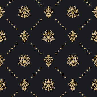 Baroque vintage seamless background