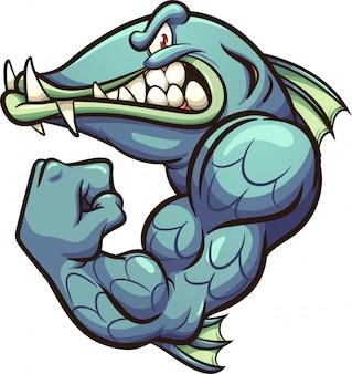 Barracuda mascot