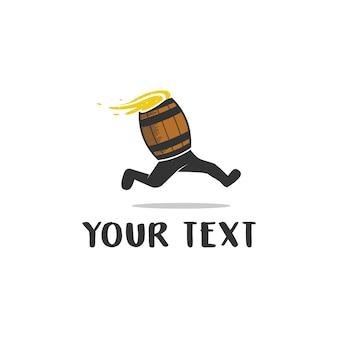 Логотип barrel hopper