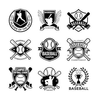 Baseball badges
