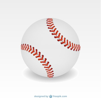 Baseball ball illustration Premium Vector