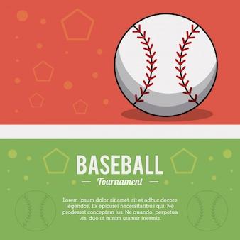 Baseball ball sport tournament image