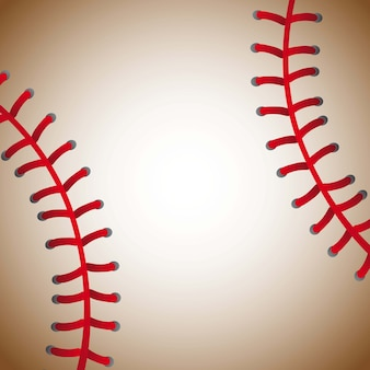 Baseball ball texture background old vector illustration