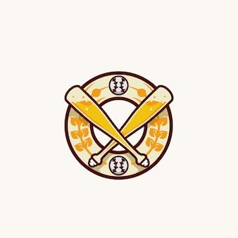 Baseball brewery logo