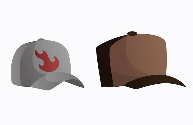 野球帽。ユニセックスなヴィンテージのエレガントな帽子。