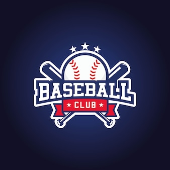 Baseball club logo design