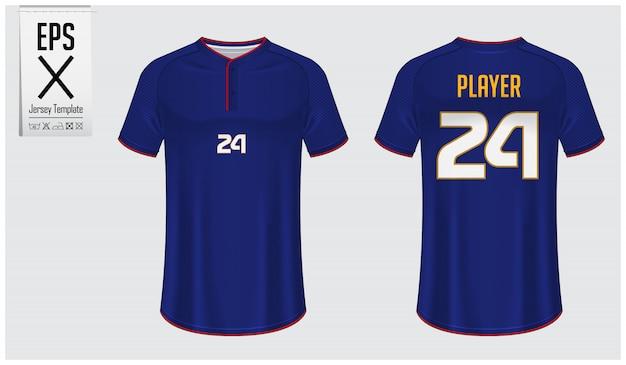 Baseball jersey mockup