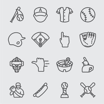 야구 선 아이콘