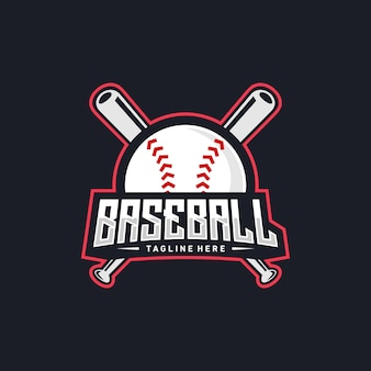 Baseball logo design
