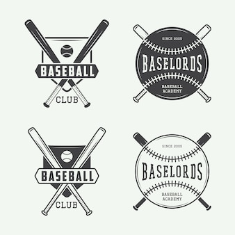 Baseball logos, emblems