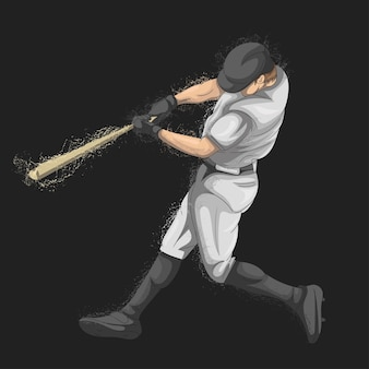 Baseball player who is catching the ball