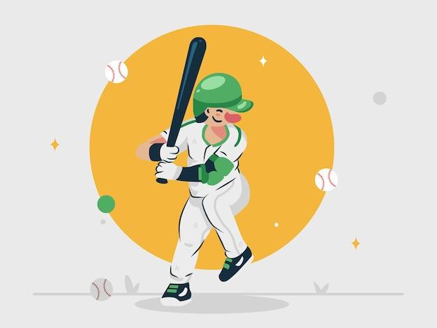 野球の要素を持つ野球選手