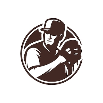 Baseball sport & esport logo