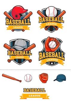 野球ベクトルロゴ