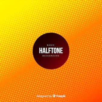 Basic halftone background