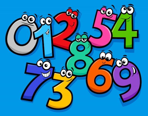 Группа символов основных чисел