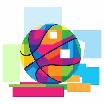 Basket ball vector design