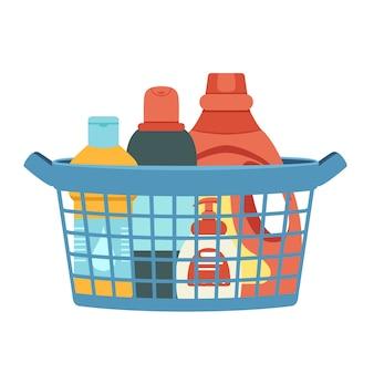 洗剤や消毒剤で洗浄するためのバスケット