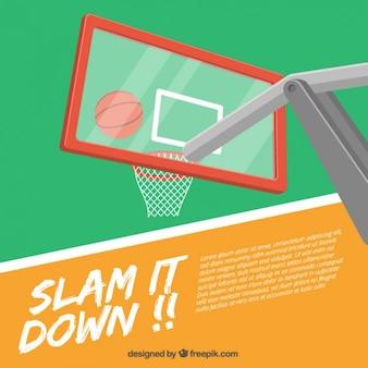 Дизайн баскетбол фоне