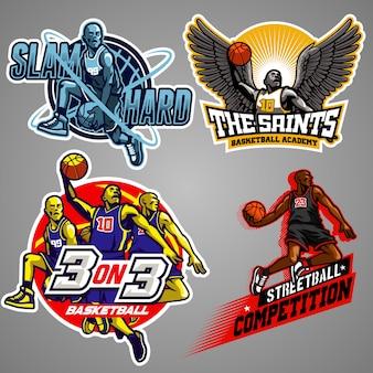 Basketball badge collection