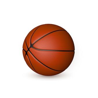 고립 된 농구 공