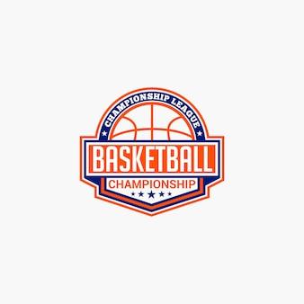 Basketball club badge