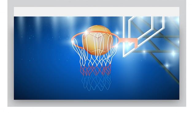 농구 클럽 웹 사이트.