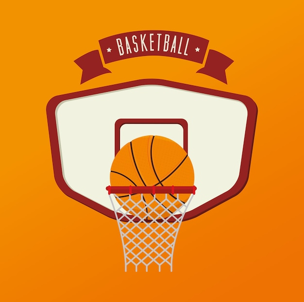 Basketball design, vector illustration.
