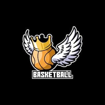 Basketball esport championship tournament logo
