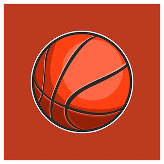 Баскетбол isolated иллюстрации