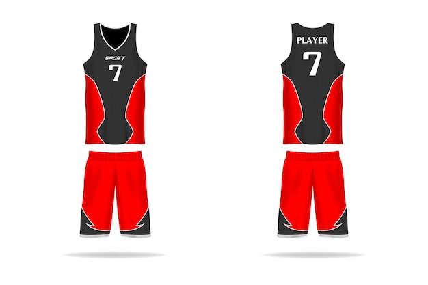 Basketball jersey 01