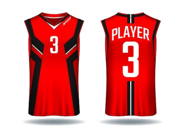 Basketball jersey, tank top sport illustration.
