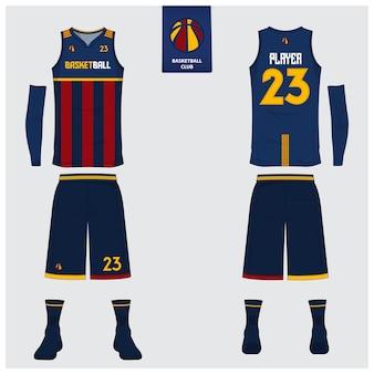 Basketball jersey template design