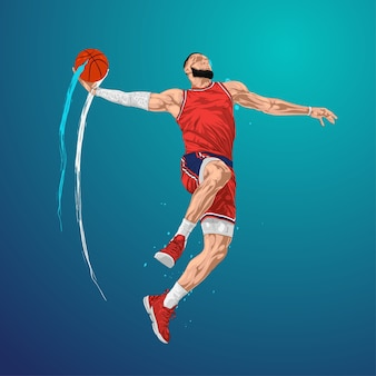 Basketball jump and shoot