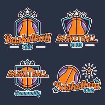Basketball label collection